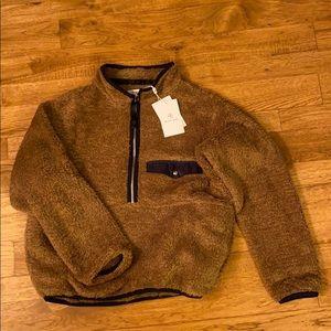 NWT Anine Bing Sierra Pullover-Brown Size XS